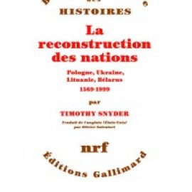 La reconstruction des nations.